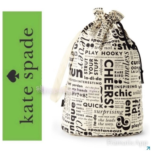 a4bded8114d 🆕♤️Kate Spade New York Laundry Bag